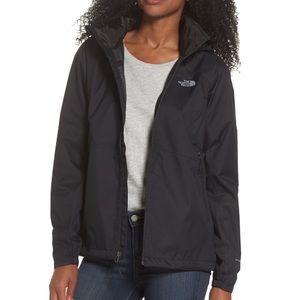 NWT The North Face Resolve 2 Rain Jacket Black L